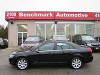 2007 Lincoln MKZ AWD-LEATHER-ROOF-A/C SEATS-CLEAN CARPROOF-CDN