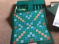 Scrabble original game, never used so excellent conditin