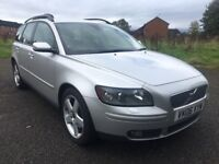 2006 VOLVO V50 SE 2.4 AUTO, PETROL, ESTATE, FULL HISTORY, CAMBELT DONE, LONGMOT, GREAT CAR, 170 BHP