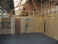 Huge Light Industrial Workshop Space | 798 sq ft | Monthly Rolling Contract | Studio 7