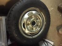 Ford transit spare wheel (brand new tyre)