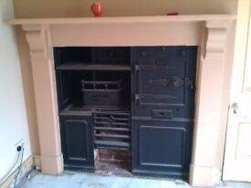 Antique Cooker range suround