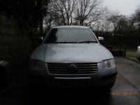 VW PASSAT, 2003YEAR, 5months MOT, MANUAL, 2.0 PETROL