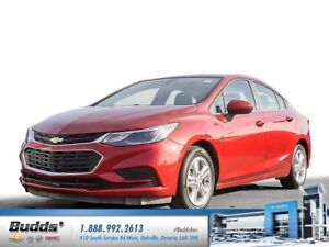 2017 Chevrolet Cruze LT Auto Financing as low as 0.0% for up...