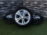 Mercedes C Class W205 S205 17 Inch Alloy Wheels 2017