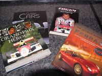 Motorsport and Motoring books.