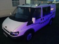 Transit Camper Van - 2003 with private plate in Excellent Condition - Long Mot