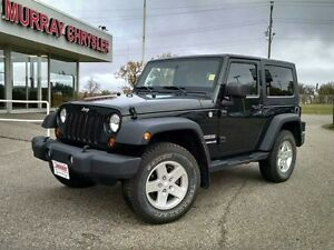 2010 Jeep Wrangler 2dr Sport 4WD Convertible