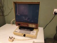 Vintage Data veiw Inc Microfiche reader-Wonderfully retro!