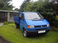 Volkswagen TRANSPORTER CARAVELLE, one ton tipper, in good condition, 170k miles