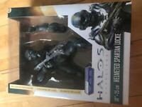 """Halo 10"""" Helmeted Spartan Locke Statue NEW in Box, used for sale  Ely, Cardiff"""