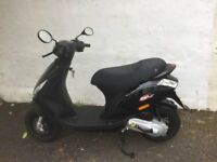 PIAGGIO ZIP 50 66 PLATE 600 MILES ONLY MINT CONDITION