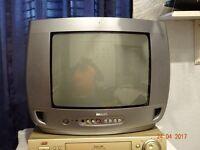 Bargain Old Tech 14inch 4x3 aspect ratio colour crt tv
