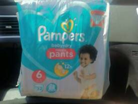 Pampers nappy pants 10x32