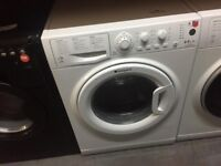 HOTPOINT 8/6 KG WHITE WASHER DRYER