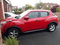 2014 Nissan Juke Visia 1.6 petrol very low miles