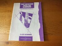 Eb Alto Saxophone Music Book - First Repertoire Pieces