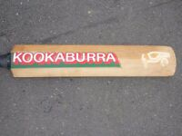 KOOKABURRA CRICKET BAT AND PADS £10