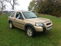 LAND ROVER FREELANDER 2.0 TD4 S , 3 DOOR, £1450