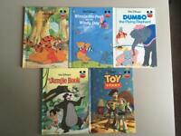Bundle of 5 Disney books