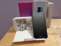 New Huawei P10 Lite (WAS-LX1A), SIM-free, Midnight Black, 4/32GB RAM/ROM, Huawei case, screen protec