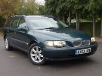 Volvo V70 Automatic Estate, Low Mileage, Auto Volvo History, not mercedes audi bmw vauxhall honda