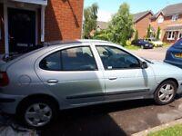 Renault Megane Fidji spares or repairs