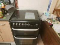 Cannon Harrogate Gas hob eletric oven
