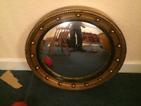 Antique bevelled mirror in excellent condition