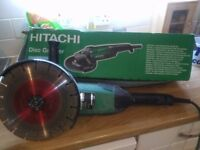 Hitachi angle grinder almost new