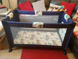 Kiddi-o Travel cot for sale