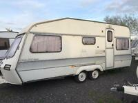 Lunar lightweight twin axle end bedroom 4 berth ( sale on Saturday 15th ) CAN DELIVER