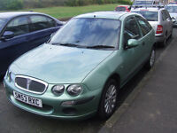-SOLD- TA Rover 25. LOW MILEAGE. 1.4 litre. 5 half leather seats. 5 good alloys with good tyres.