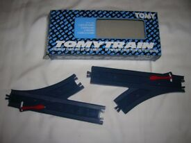 Tomy Train 2 sets of points, set no 1303 as new in pristine original box.