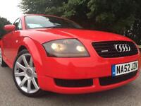 2002 (52)AUDI TT 1.8 T 180BHP 2DR COUPE.. JUST SERVICED WITH 12 MONTHS MOT!