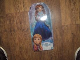 FROZEN ANNA 12IN DOLL BRAND NEW IN BOX