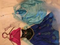 Girls Princess Dress Up Role Play Bundle Of Clothes, Shoes etc