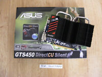 Asus (nVidia) GTS450 1GB DDR3 graphics card for sale