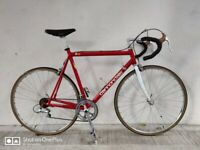 SERVICED (4541) 700c CANNONDALE RACING R500 Aluminium ROAD BIKE RACER BICYCLE Height: 180-195 cm