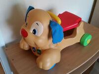 Fisher-Price Stride-to-Ride Puppy - Baby Walker