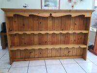 Lovely solid pine dresser top. Very good condition.
