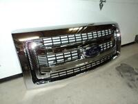 Front new grill for 2013 F-150 truck