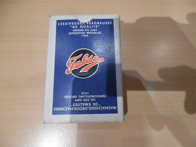 ancien jeu de carte publicitaire machines a laver ,essoreuse falda