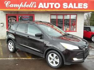 2013 Ford Escape SE 4X4!! HEATED LEATHER!! ECO BOOST!! CRUISE!!