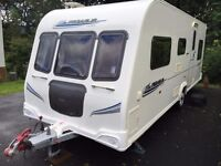 2010 Bailey Pegasus 546 6-Berth Touring Caravan with Lots of Accessories