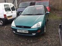 FORD FOCUS 1400 cc ENGINE GOOD DRIVER IN CLEAN CONDITION IN AND OUT ANY TRIAL WELCOME IN METALLIC