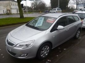 Vauxhall ASTRA 1.7 CDTI Exclusiv Ecoflex estate,clean tidy car,runs and drives well,£20 a yr tax