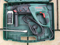 Bosch PBH 3000-2 FRE 750W DIY SDS Rotary Hammer Drill with manual