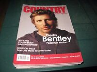 COUNTRY MUSIC PEOPLE MAGAZINE JULY 2008 DIERKS BENTLEY COVER JEFF BATES COUSIN EMMY