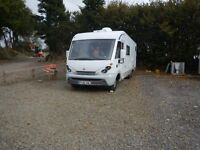 Burstner Elegance 821 Motorhome, MOT 10/11/2017, just serviced